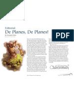 Planescape 4e - De Planes