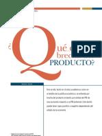 Qué es la brecha producto (Marco Vega)