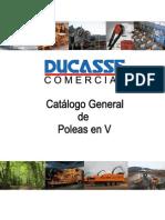 Catálogo General Poleas