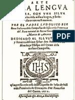 Arte de la lengua Aymara (1603)