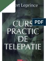 Albert Leprince Curs Practic de Telepatie
