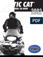 Arctic Cat 2002 Repair Manual