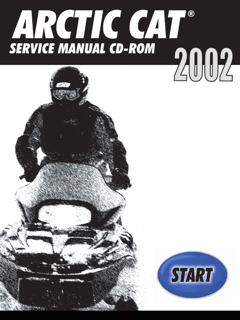 Arctic Cat 2002 Repair Manual | Gasoline | Belt (Mechanical)