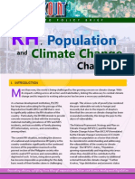 RH, Population and Climate Change Challenge