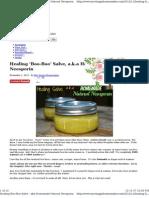 249 DIY Homemade Natural Neosporin