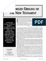 The Forged Origins of the New Testament