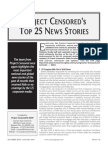 Project Censored's Top 25 News Stories