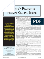 America's Plans for Prompt Global Strike