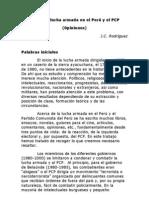 Acerca la lucha armada en el Perú y el PCP