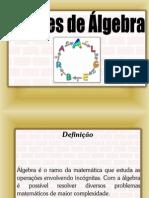 Apresentação sobre ágebra