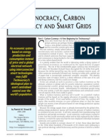 Technocracy, Carbon Currency and Smart Grids