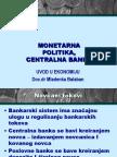 uVOD U EK. - Monetarna Politika