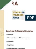 Servicios de Prevencion Ajenos