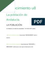 La Población de Andalucía