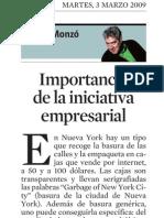 Quim Monzó. Import an CIA de La Iniciativa rial