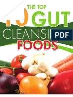 10 Gut Cleansing Foods FB13PX