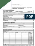 Requerimento de Registro de ECOAV- Agosto2011