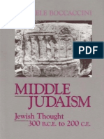 Middle Judaism. Jewish Thought 300 b.c.e. to 200 c.e. (Limited Preview)