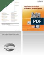 Hitachi Circuit Breakers and Miniature Circuit Breakers