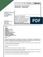 NBR 6023 - 2003 - Informação e Documentação - Referências - Elaboração
