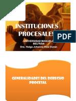Instituciones Procesales Feb 24 2013