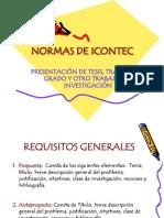Normas de Icontec12