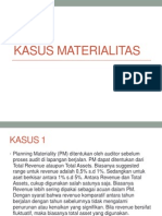 KASUS MATERIALITAS