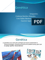 exposicion genetica