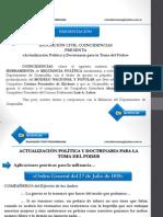 ACTUALIZACION POLITICA Y DOCTRINARIA Cuadernillo Nº 1