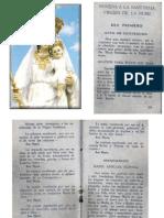 Novena a La Virgen de La Nube