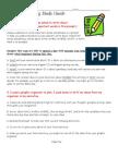 Narrative Study Guide