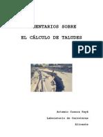 COMENTARIOS SOBRE Calculo de Taludes