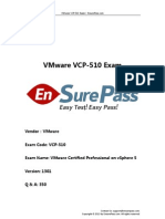 VMware.ensurePass.vcp 510.V1301.350Q