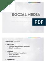 Social Media Industry Evolution Analysis