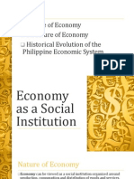 Economy as a Social Institution