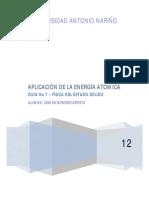 Guía No 7 - Aplicación de la Energía Atomica