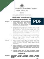 Perkap Nomor 14 Tahun 2012 Tentang Manajemen Penyidikan Tindak Pidana