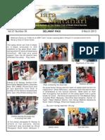 RCBKS Bulletin Vol 21 No 30