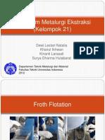 Praktikum Metalurgi Ekstraksi