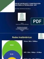 IMPLEMENTACIÓN DE UN ENLACE Y CONSTRUCCIÓN DE ANTENAS PARA LA TECNOLOGÍA  WIFI- by PABLO 2006