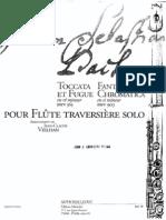 39053258 Bach J S Fantasia Cromatica h Moll Flute Solo(1)