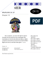 Consumer Rights Chapter 15