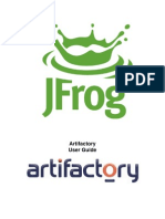 Artifactory User Guide.