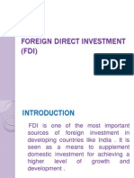 Foreign Direct Investment (f