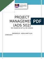 Project Event Management