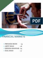 Financial Markets Ppt