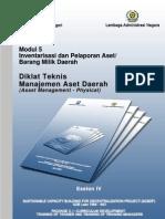 Modul 5 Eselon 4 Manajemen Aset