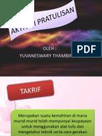 Presentation Aktiviti Pratulisan Literasi Bahasa