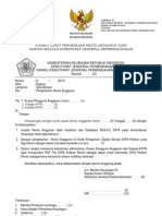 Lamp IX PMK 02 Thn 2013 Format Pengesahan Revisi Anggaran