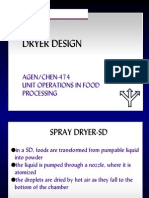 Spray Dryer Design Ppt